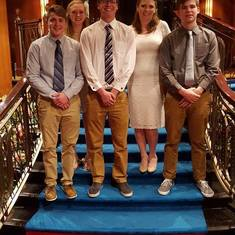 My cruise kids formal night