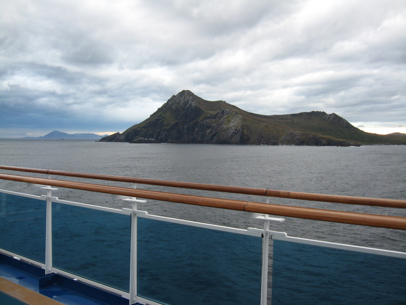 Cape Horn--1.5 days after leaving Antarctica - Star Princess