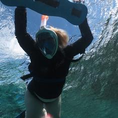 Snorkeling Rocked!
