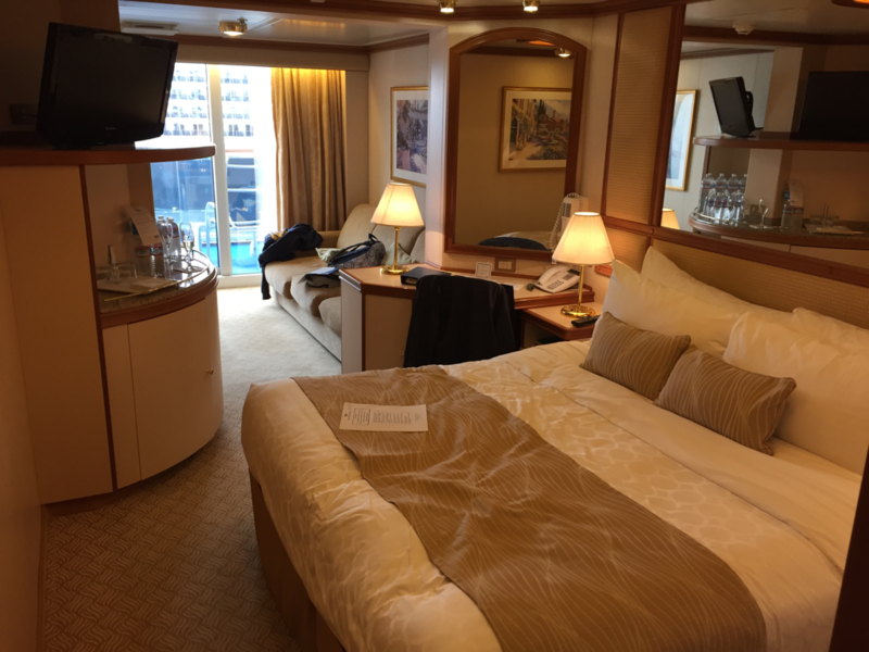 Mini Suite Cabin Category Md Ruby Princess