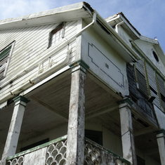 Belize City, Belize - Typical rundown colonial architecture, full of texture and hidden beauty.