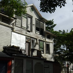 Belize City, Belize - Gorgeous colonial mansion, headed to ruin.
