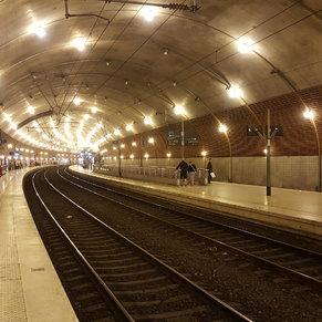 Railway station Monaco