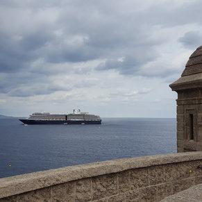 Noordam in front of Monaco
