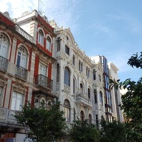 Nice buildings in Ceuta