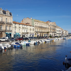 Canal at Sete