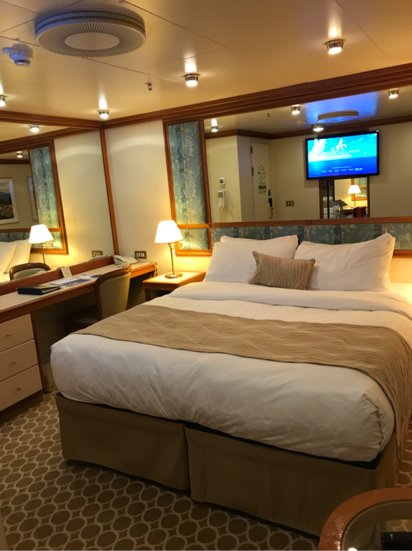 Interior Stateroom Cabin Category Ib Sapphire Princess