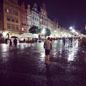 Rain in Gdansk