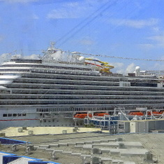 View from Ship of Carnival Magic