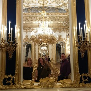 The highlight of our visit to Vienna with APT on the AmaReina was definitely the concert at Palais d'Lichtenstein.