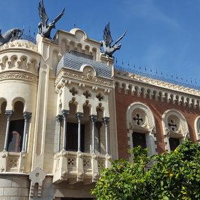 Nice building in Ceeuta