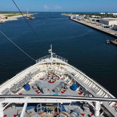 Port Canaveral, Florida - Leaving Port Canaveral