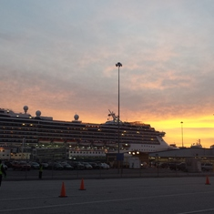 Beautiful arrival in Baltimore!
