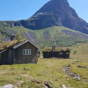 Mountain Farm.  Geiranger