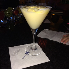 Coconut-topped cocktail at Molecular Bar