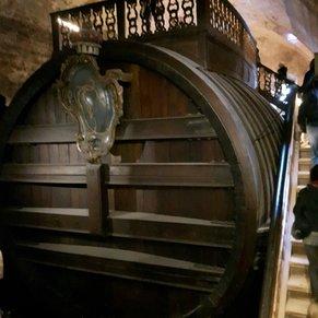 World's largest barrel.