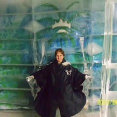 Charlotte Amalie, St. Thomas - Magic Ice ice bar.