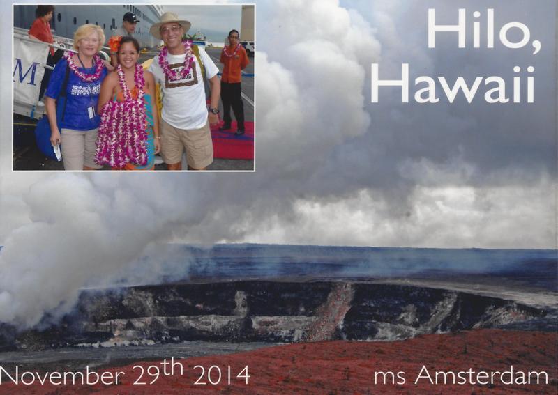 Hilo Hawaii - Amsterdam