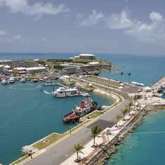 King's Wharf, Bermuda - National Museum as seen from King's Wharf