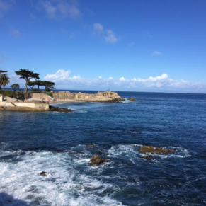 Lover's Point, Pacific Grove, Ca. A bike ride away from the Wharf.