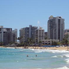 San Juan, Puerto Rico - San Juan beach