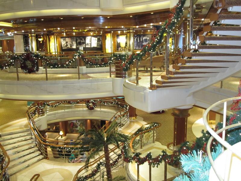 Atrium with decorations #2 - Island Princess