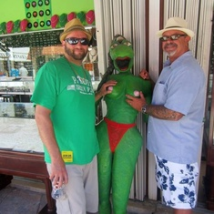 Cozumel, Mexico - Senorita frog