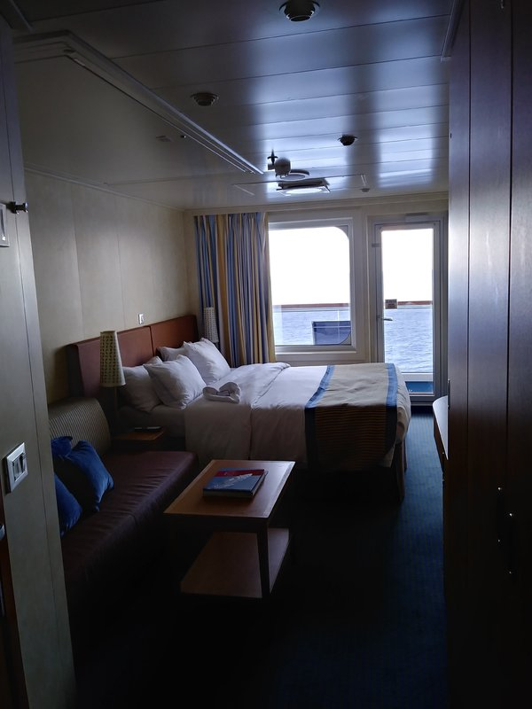 Standard Balcony Cabin Category 8a Carnival Vista