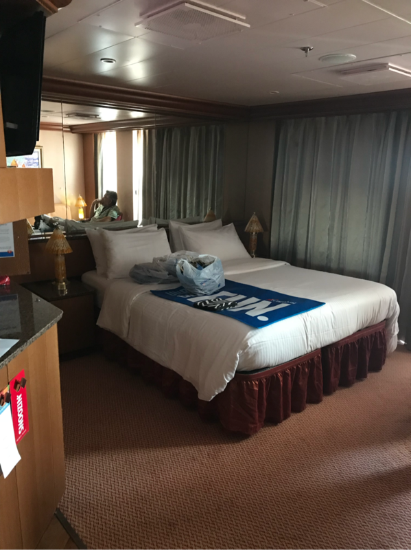 Ocean Suite Cabin Category U3 Carnival Freedom