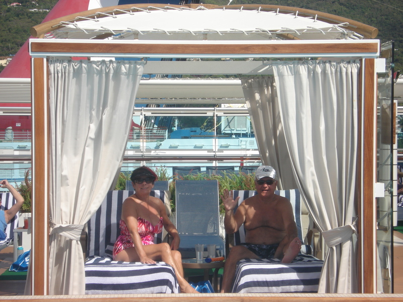 The Cabana!!!! - Regal Princess
