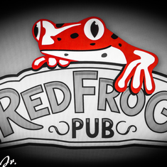 Red Frog Pub my favorite hangout on the Magic