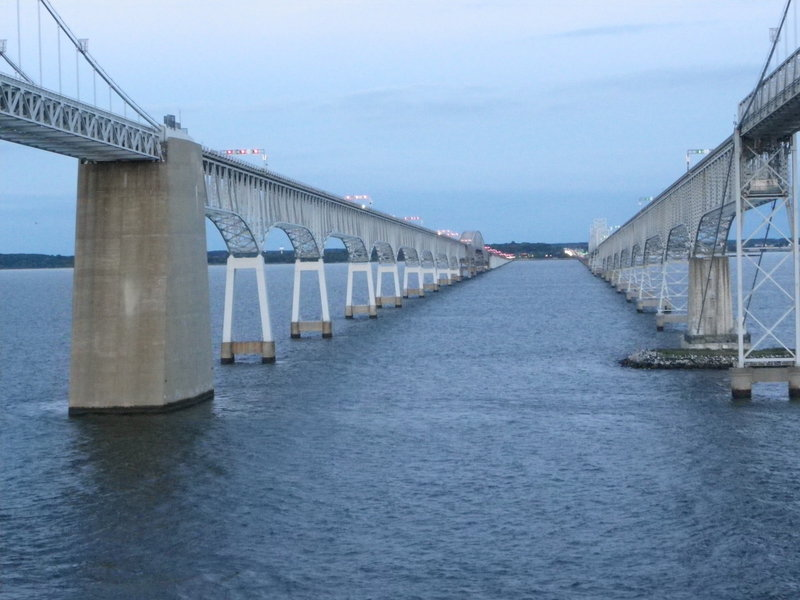 Chesapeake Bay Bridge - Carnival Pride