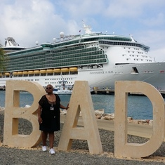 At Port of Labadee