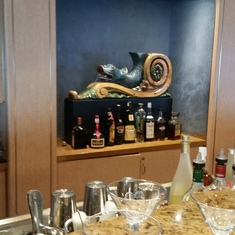 Mixology class @ the Ocean Bar