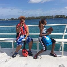 Ferry to Island