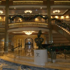 Another view from the lobby