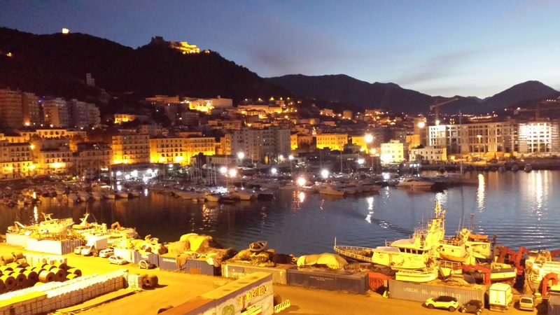Naples, Italy - Salerno in the Early Morning
