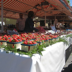 Villefranche-Sur-Mer, France - Market in Nice