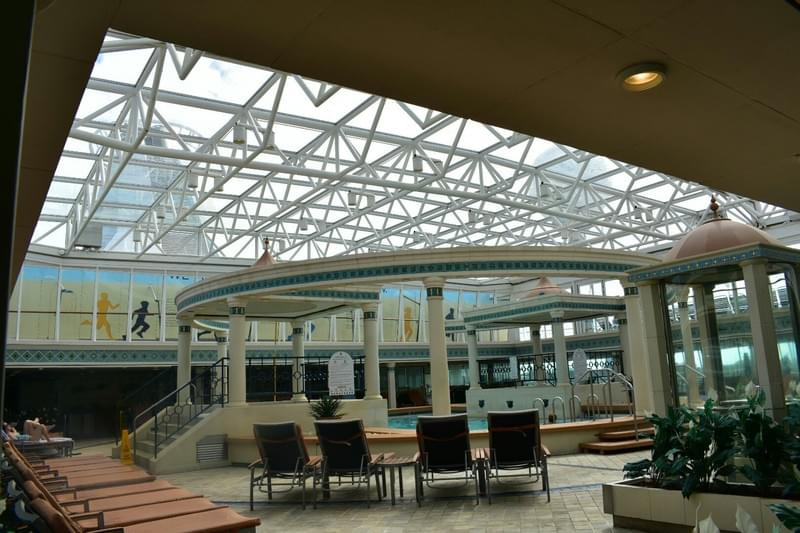 Solarium on Enchantment of the Seas