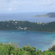 Charlotte Amalie, St. Thomas - Magen's Bay Beach view