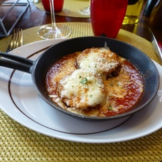 Celebrity Constellation - Eggplant in Tuscan Grill