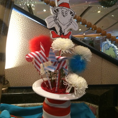 Centerpiece at Seuss brunch
