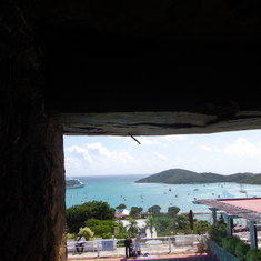 Charlotte Amalie, St. Thomas - Inside Blackbeard's Castle View