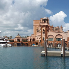 Back side of Atlantis