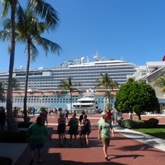 Dream docked in Key West