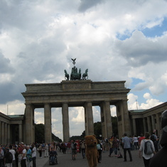 Berlin--Brandenburg Gate