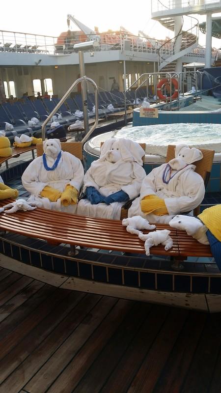 pool deck - Carnival Paradise