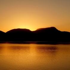 Sunset on the Inner Passage