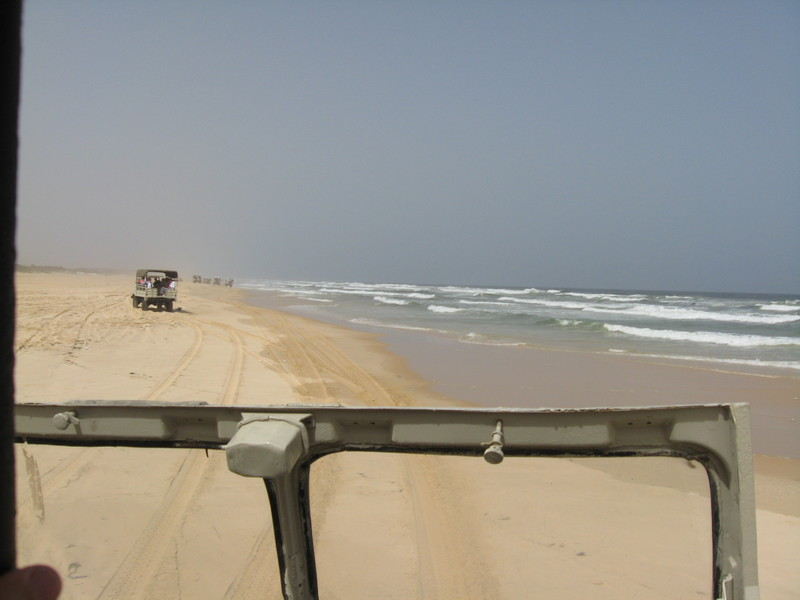Thousands of miles of these beaches in West Africa - Prinsendam