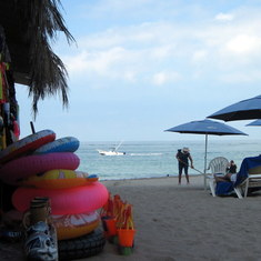 Puerto Vallarta - On the beach